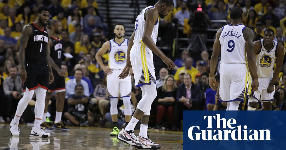 e38af27eb812 Warriors  Kevin Durant to miss rest of Rockets series with strained calf