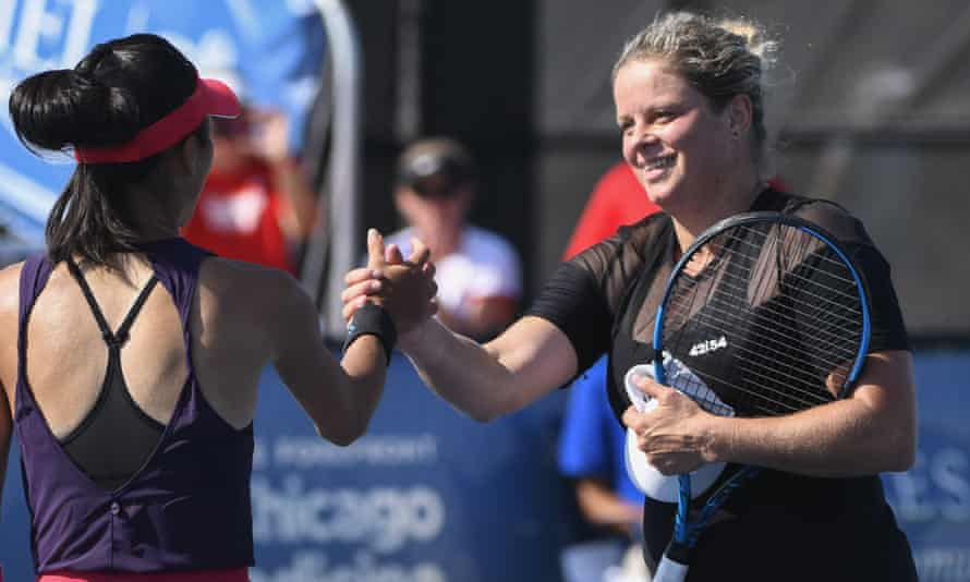 Kim Clijsters returned to the World Team Tennis event in July.
