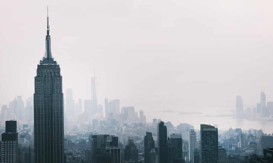 Haze over Manhattan, 21 July 2021.