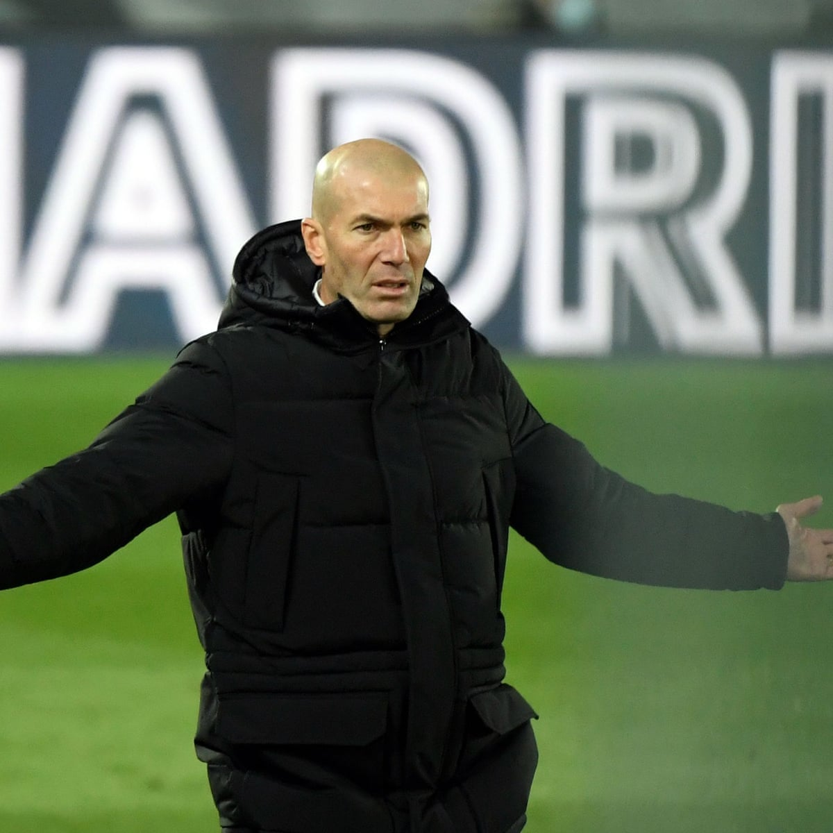 Zinedine Zidane does it again as Real Madrid pull back from the brink |  Real Madrid