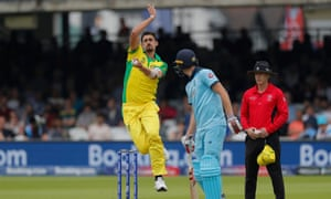 Mitchell Starc inswingers were key to dismantling England's batting order as he helped himself to four for 43.