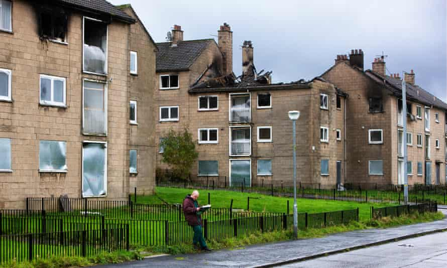 Easterhouse is one of the most disadvantaged areas of Glasgow.