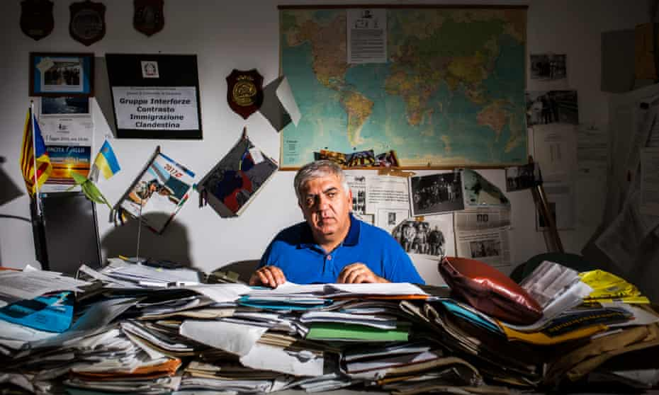 Carlo Parini, 56, police commissioner was the chief of the unit called GICIC set up in 2006 to fight illegal immigration.