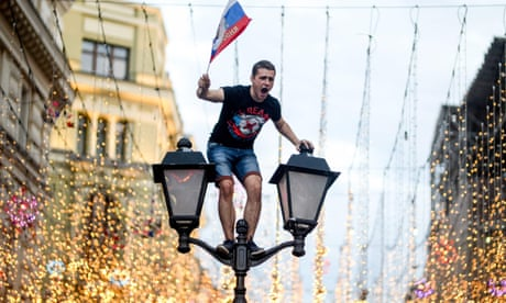 A wild night: Russia win and Moscow parties as never before