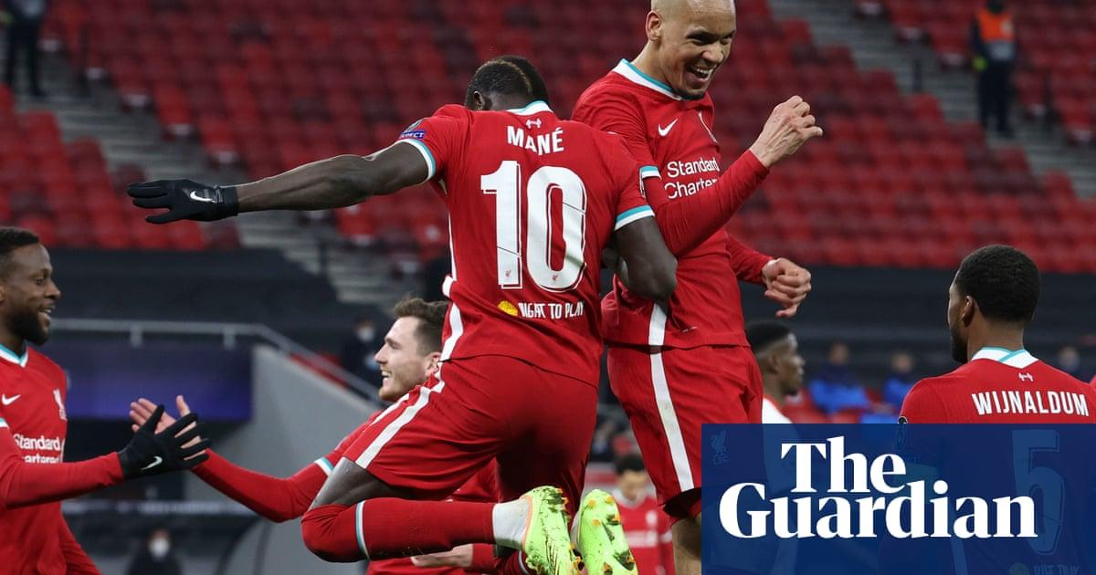 Liverpool cruise into quarters as Sadio Mané and Salah cut down Leipzig again