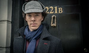 Benedict Cumberbatch as Sherlock Holmes, one of the UK's prime cultural exports.
