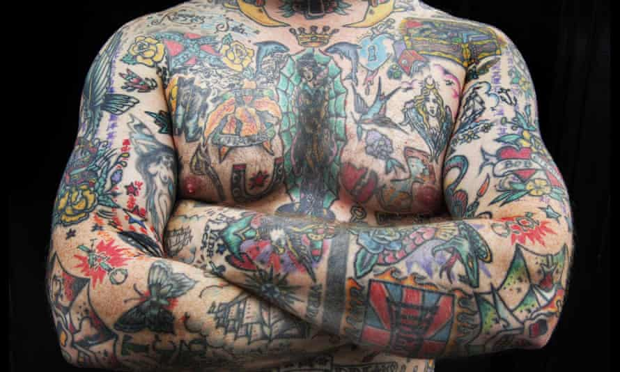 A man with tattoos