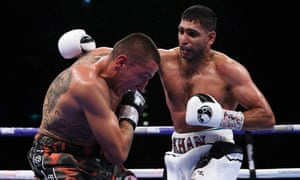 Amir Khan beat Samuel Vargas on points in September after being knocked down by Canadian fighter.