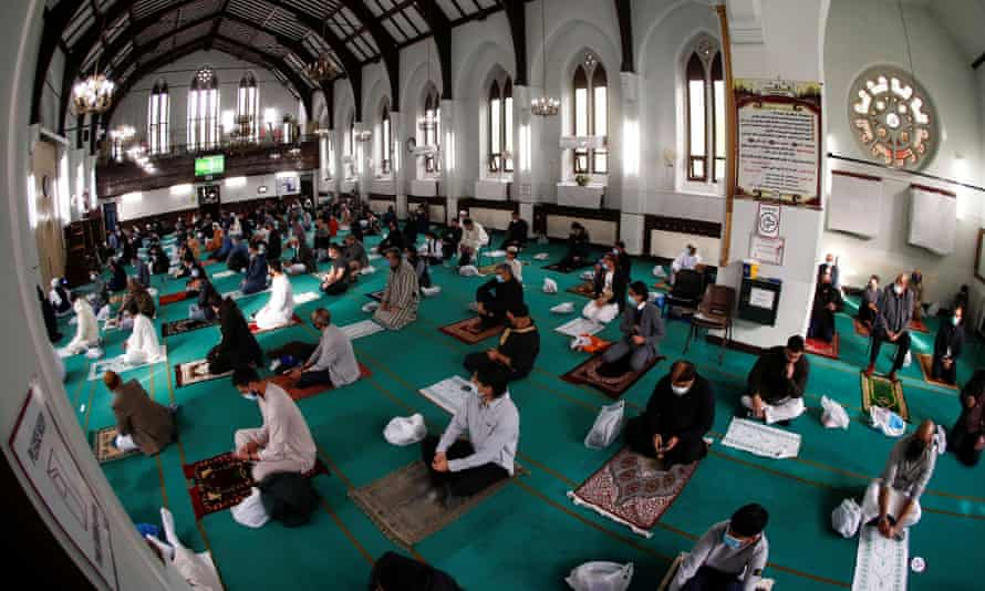 Muslims celebrate Eid at Didsbury central mosque