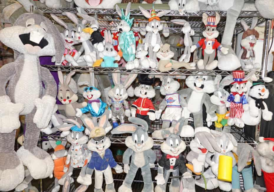 Some of the museum's many Bugs Bunny items.