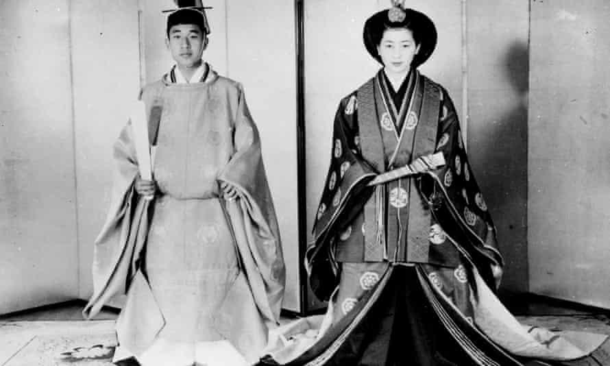 The wedding of Prince Akihito and Princess Michiko in 1959