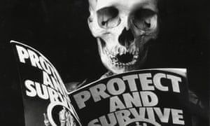 No bones about it … Peter Kennard's Protect and Survive, from 1981.