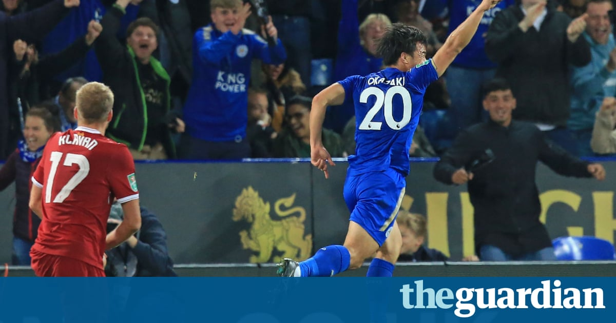 Islam Slimani strike seals Leicester win as Liverpool crash out of Carabao Cup