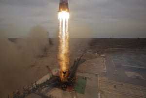 In April, the Russian Soyuz spaceship blasted off from the Baikonur cosmodrome, Kazakhstan, carrying a new crew to the International Space Station.