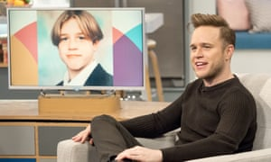 Olly Murs, then and now.
