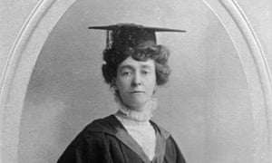Emily Davison, who described women's suffrage as the 'pearl of freedom'.