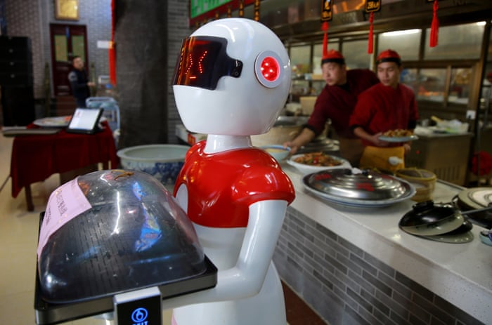 Inside Shanghai's robot bank: China opens world's first