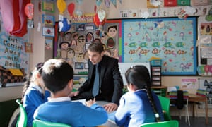 Ian Bennett, the headteacher of Downshall Primary School Ilford, Essex