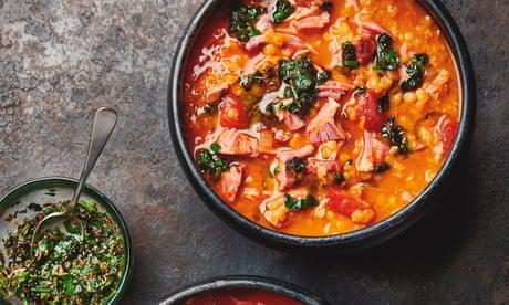Yotam Ottolenghi's winter soup recipes