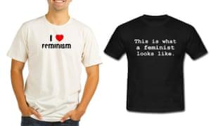 'Feminist' T-shirts