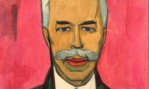 A portrait of the collector Sergei Shchukin