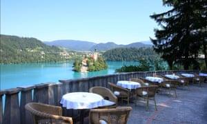 Tito's Tearoom, Villa Bled, Slovenia