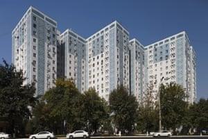 Residential building, Tashkent, Uzbekista, 1984