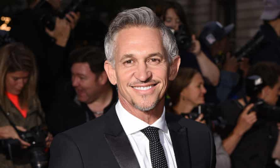 Gary Lineker … speaking out for refugees
