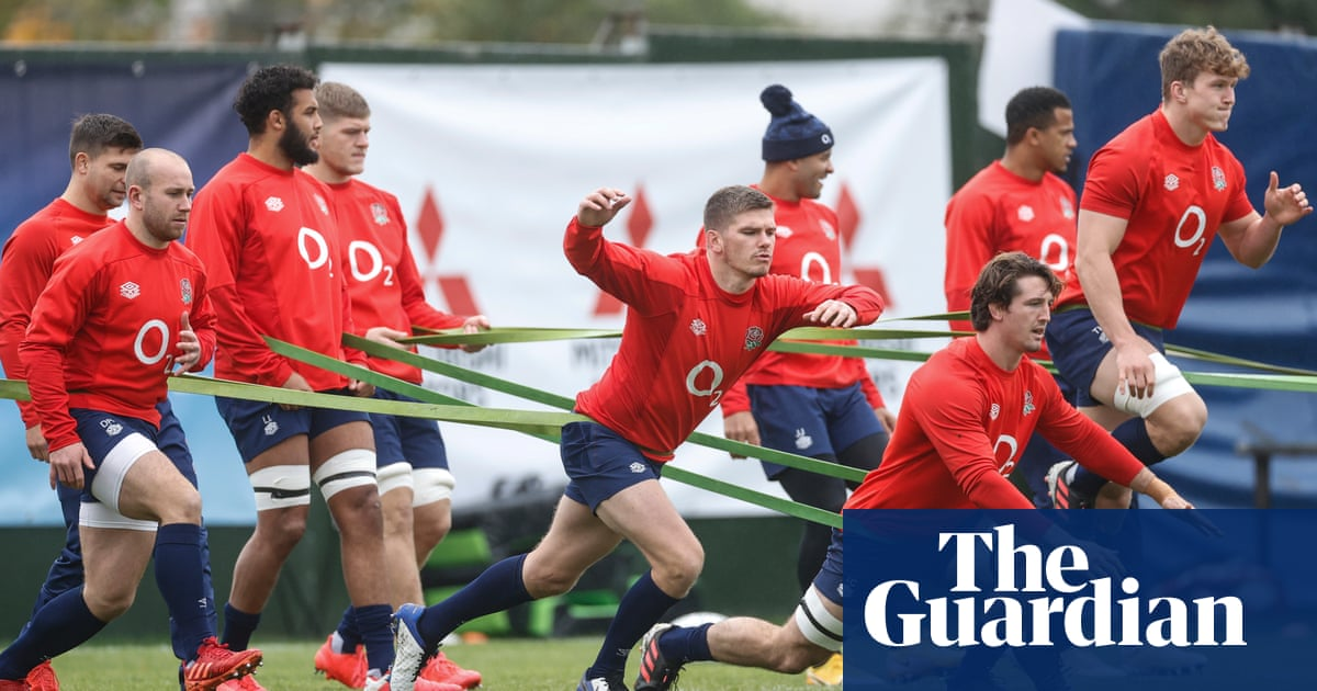 England can learn from Exeter pack, says forwards coach Matt Proudfoot
