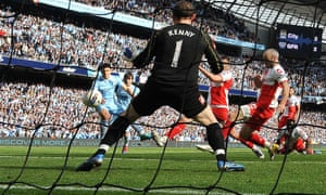 Sergio Agüero fires Manchester City to a thrilling title triumph in the greatest moment the Premier League has ever seen.