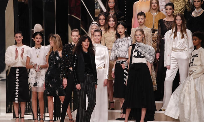 Chanel Evokes Ghost Of Coco With 80s Inspired Collection Fashion The Guardian