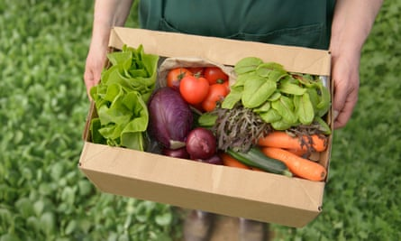 Try keeping food as packaging-free as possible.