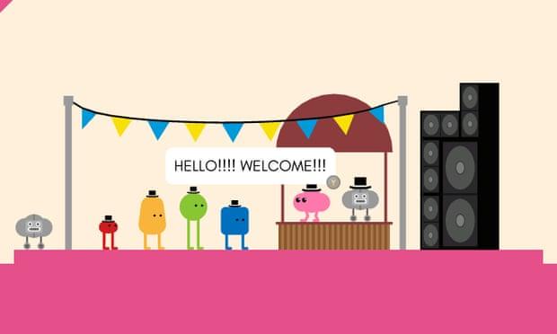 Personajes coloridos del juego Pikuniki