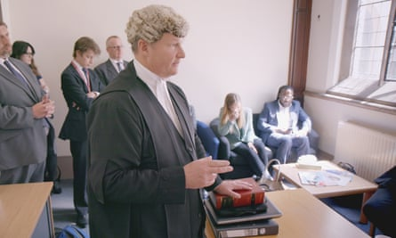 A still from ITV's documentary series Inside the Court of Appeal.