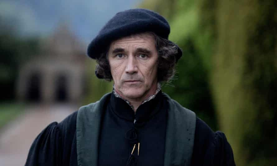 Thomas Cromwell, played by Mark Rylance, in Wolf Hall.