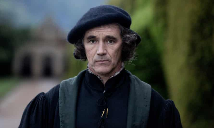 Wolf Hall has received four Bafta TV award nominations, including for its star Mark Rylance.