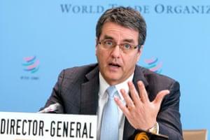 Roberto Azevêdo, the WTO director-general