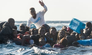 The left felt panicked by the arrival of thousands of migrants from north Africa.