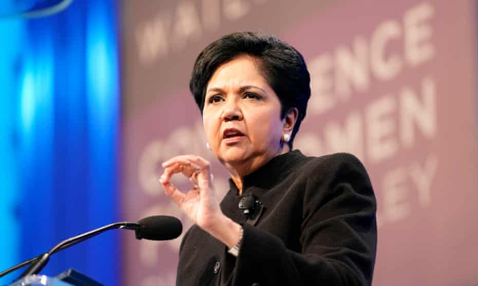 Indra Nooyi, PepsiCo's former CEO