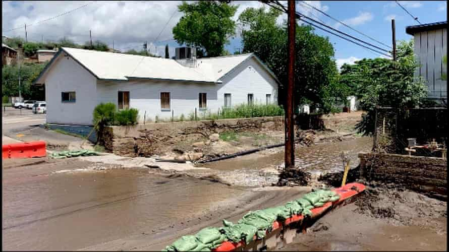 After a summer of megadrought and wildfire, monsoonal storms caused floods and mudslides in Miami.