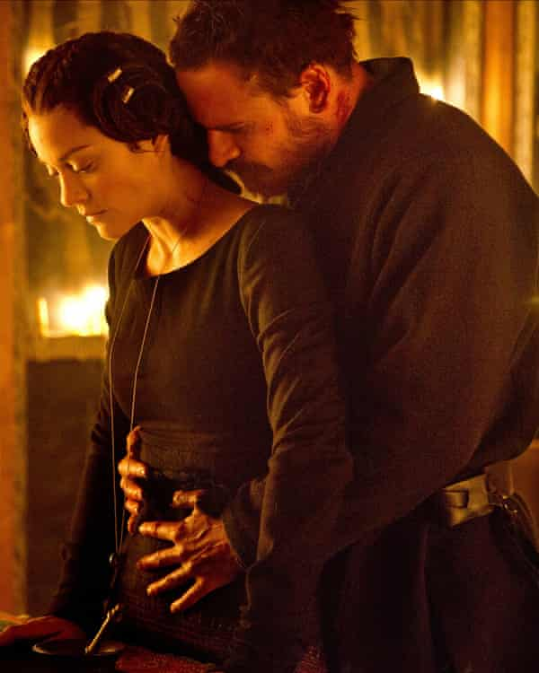 Marion Cotillard and Michael Fassbender in Macbeth (2015)