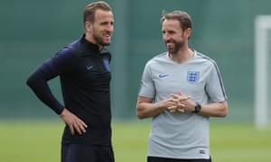 Harry Kane and Gareth Southgate
