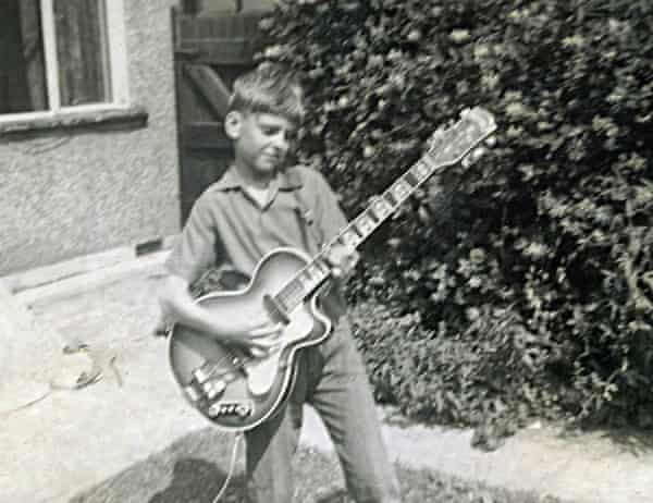 Peter Frampton at the age of eight in 1958