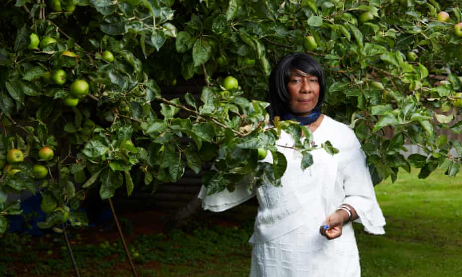 'I'm not ready to leave the house.' … Anthony's mother, Gee, with the apple tree she planted when Anthony was born.