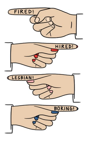 Fired, hired, lesbian, boring... City Of Friends Digested Read illustration by Matt Blease