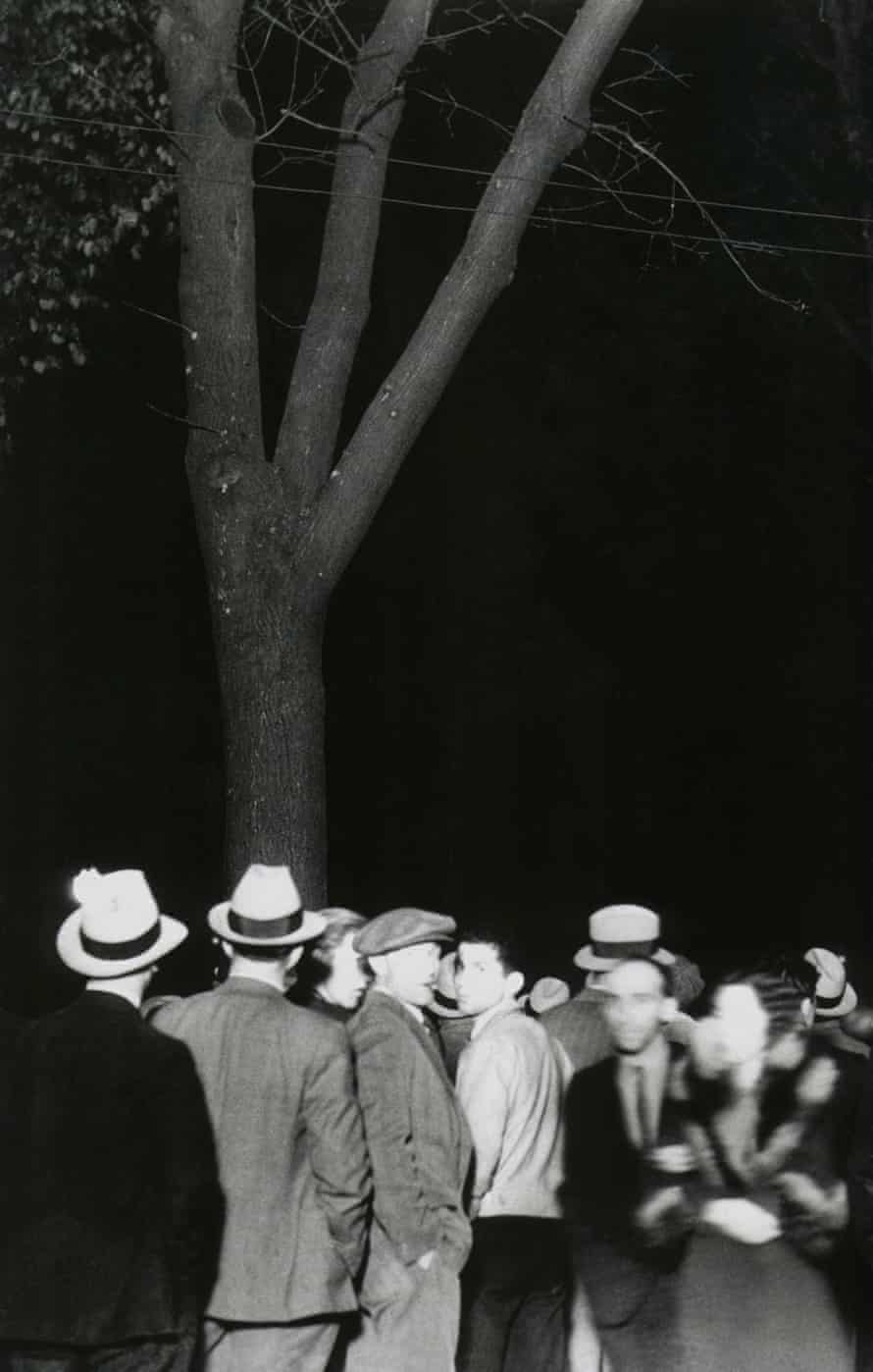 East First Street (St James Park) from the series 'Erased Lynchings', 2013