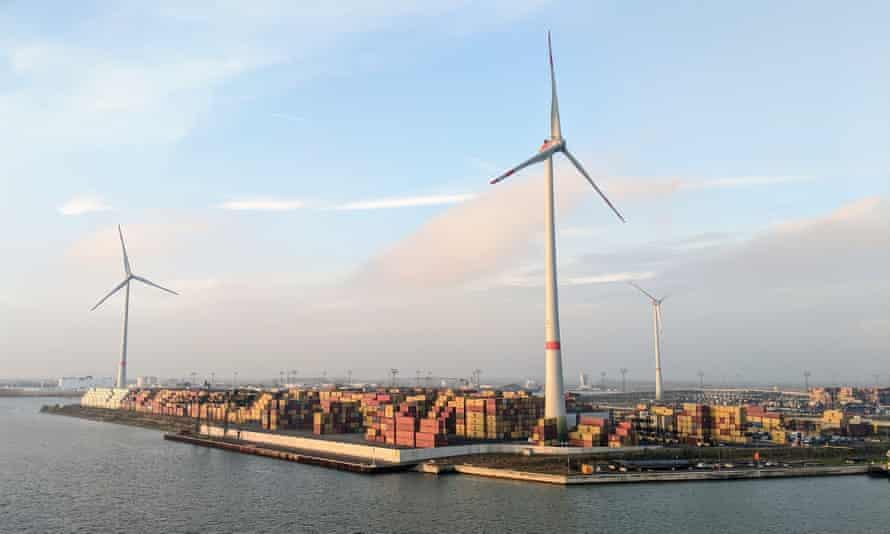View of Hamburg, Germany.