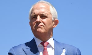 The prime minister, Malcolm Turnbull, looks at possibility of changes to section 44 of the constitution.