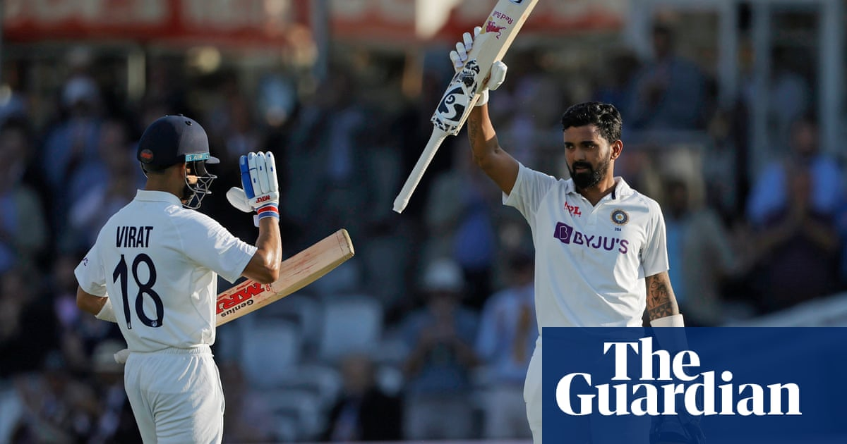 KL Rahul's sublime century puts India in early control against England