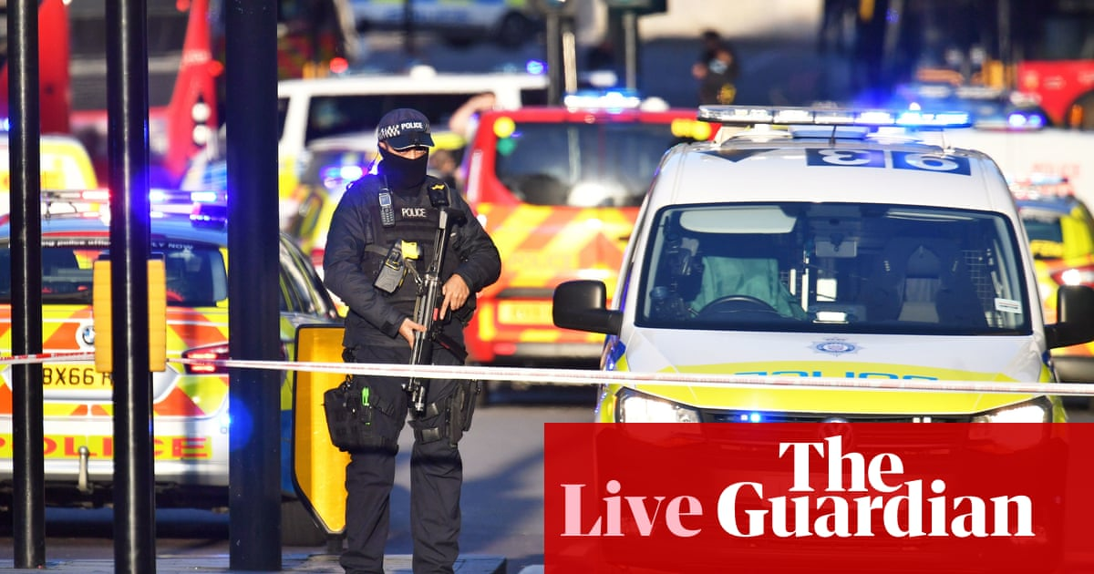 London Bridge attack: terror incident suspect shot dead by police – live updates | UK news